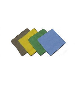 Microfiber Dusting and Cleaning Cloths (Set of 4, 1 Each)