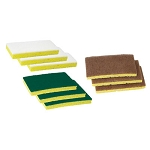 Speed Cleaning™ White Pad, Green Pad & Walnut Pad