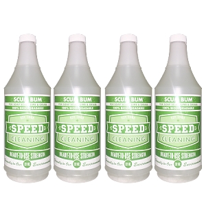 Speed Cleaning™ Scum Bum 4/32 oz. Refill bottles