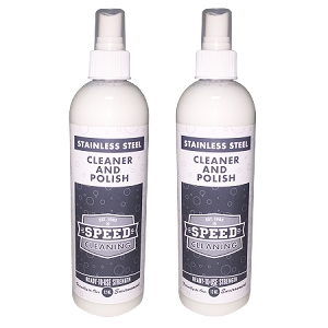 Speed Cleaning™ Stainless Steel Cleaner & Polish 12 oz. Bottle (2 pack)