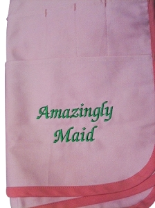 Custom Embroidery Charge for Apron - Business NAME only, NO LOGO