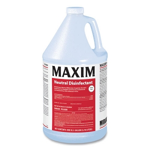 Maxim Facility+ Disinfectant, Germicidal Cleaner, Concentrate, yields 64 gallons 2 oz. per gallon of water (NOT FOR SALE OUTSIDE U.S.)