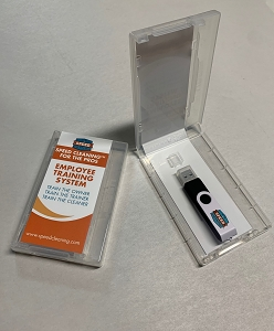 USB FLASH DRIVE for The Speed Cleaning™ For Pros Employee Training System