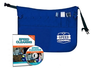 Speed Cleaning™ Apron Kit - Apron, Tool Kit (3 pc) and DVD Save 22%!