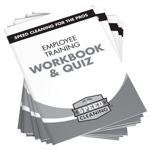 Speed Cleaning™ Employee Training Workbook/Quiz (Set of 12)