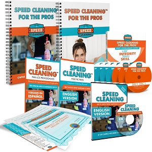 Speed Cleaning™ For The Pros Employee Training System