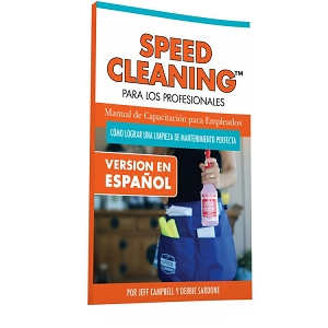 Speed Cleaning™ Employee Training Manual - PMC Book (SPANISH Version)