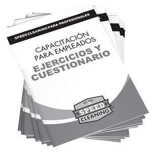 Speed Cleaning™ SPANISH Employee Training Workbook/Quiz (Set of 12)