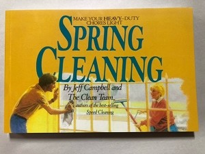 Spring Cleaning, Book By Jeff Campbell
