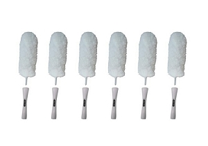 "Speed Cleaningâ""¢ Flexible Microfiber Duster (hand washable) 6 Pack"