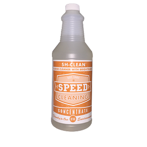 Speed Cleaning™ Sh-Clean Floor Cleaner (Concentrate Refill 32 oz.) Makes 8 Gallons!