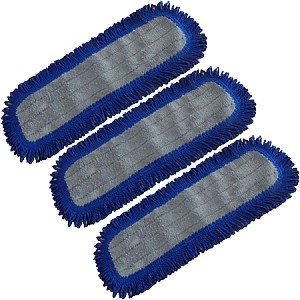 Microfiber Dry Dust Mop Replacement Pad (3 Pack)