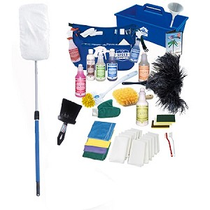 The Total Home Care Kit with The Sh-Mop