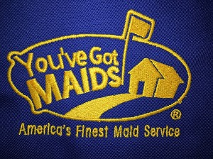 Speed Cleaning™ Original Apron with You've Got Maids Embroidered Logo